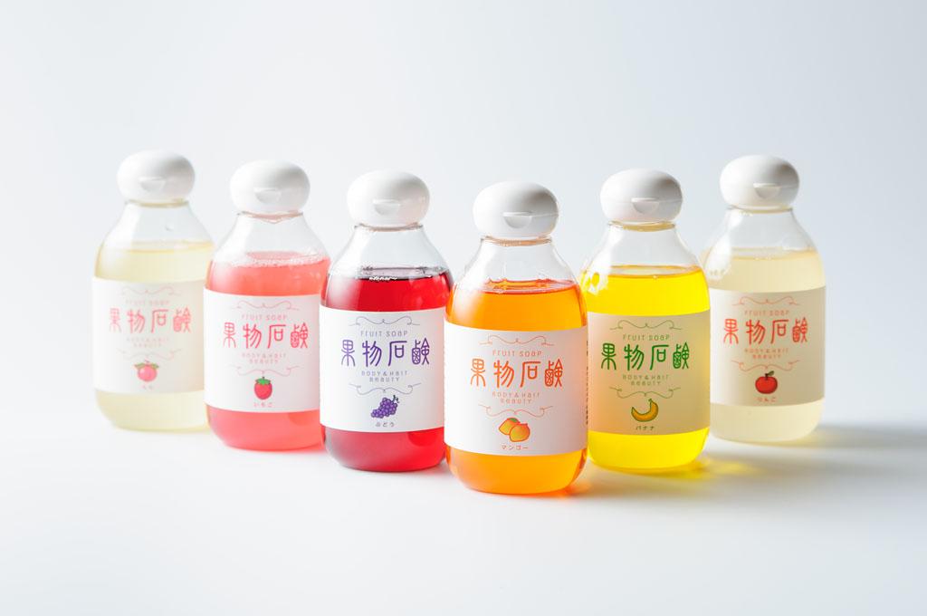 ぐんま繭の果物石鹸